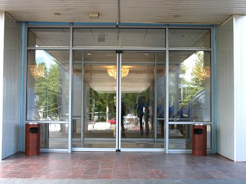 Автоматические раздвижные двери - Сфера стекла